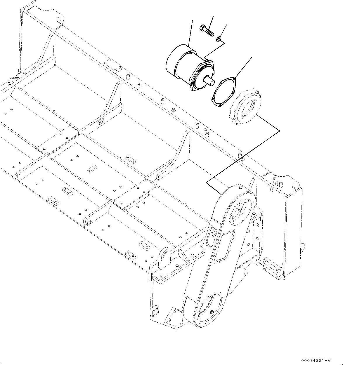 01010-81850 Komatsu БОЛТ