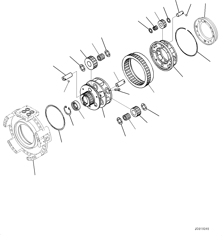 Komatsu D65e 12 D65p 12 D65ex 12 D65px 12 Bulldozer