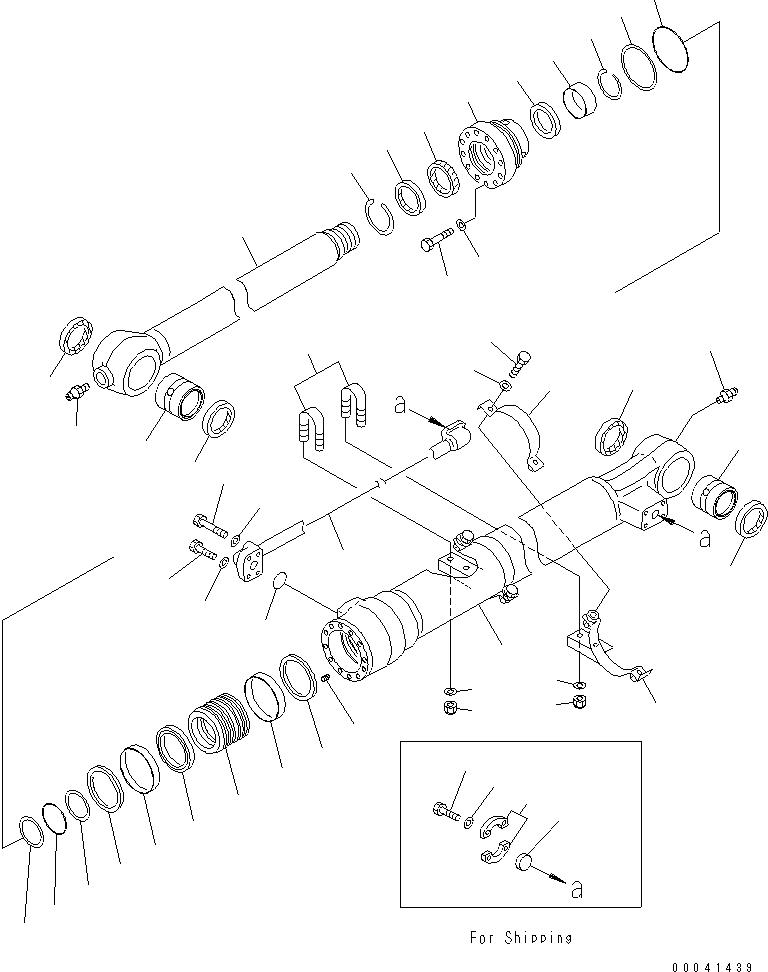 707-99-47130 Komatsu НАБОР ПРОКЛАДОК