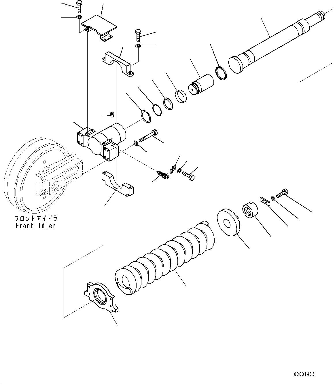 21N-30-34120 Komatsu ПЛУНЖЕР