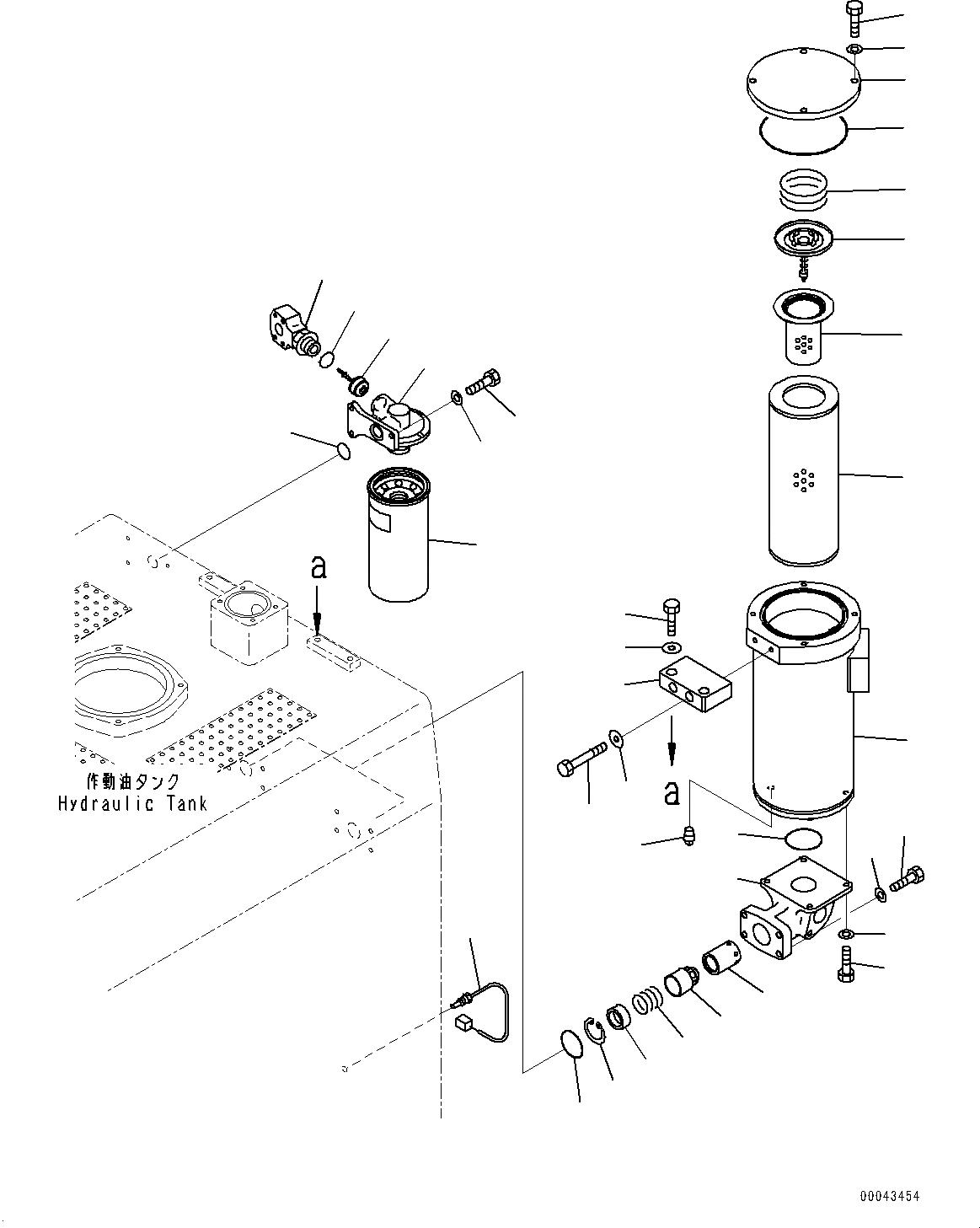 21N-60-12211 Komatsu ФИЛЬТР