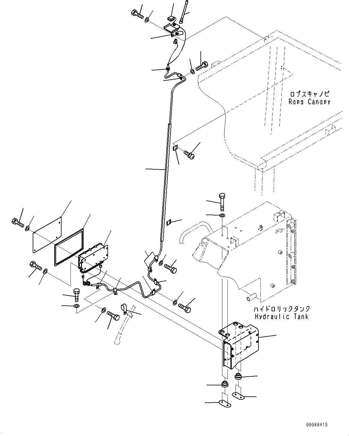 104-06-52410 Komatsu ПРОКЛАДКА