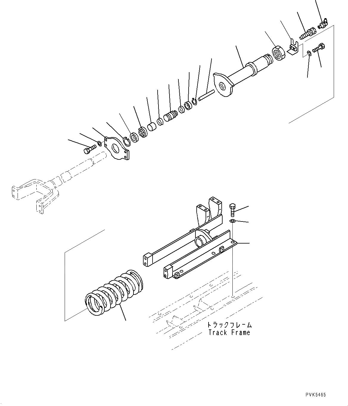 203-30-42260 Komatsu Клапан натяжителя
