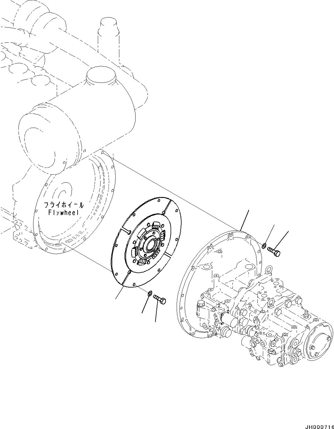 207-01-61311 Komatsu ДИСК СЦЕПЛЕНИЯ