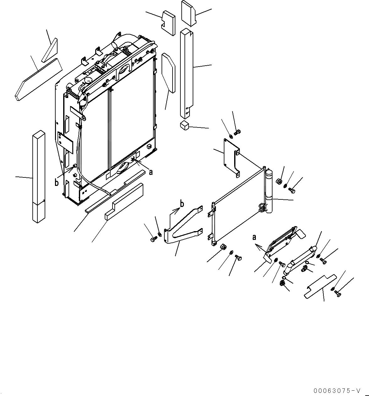20Y-810-1221 Komatsu КОНДЕНСАТОР