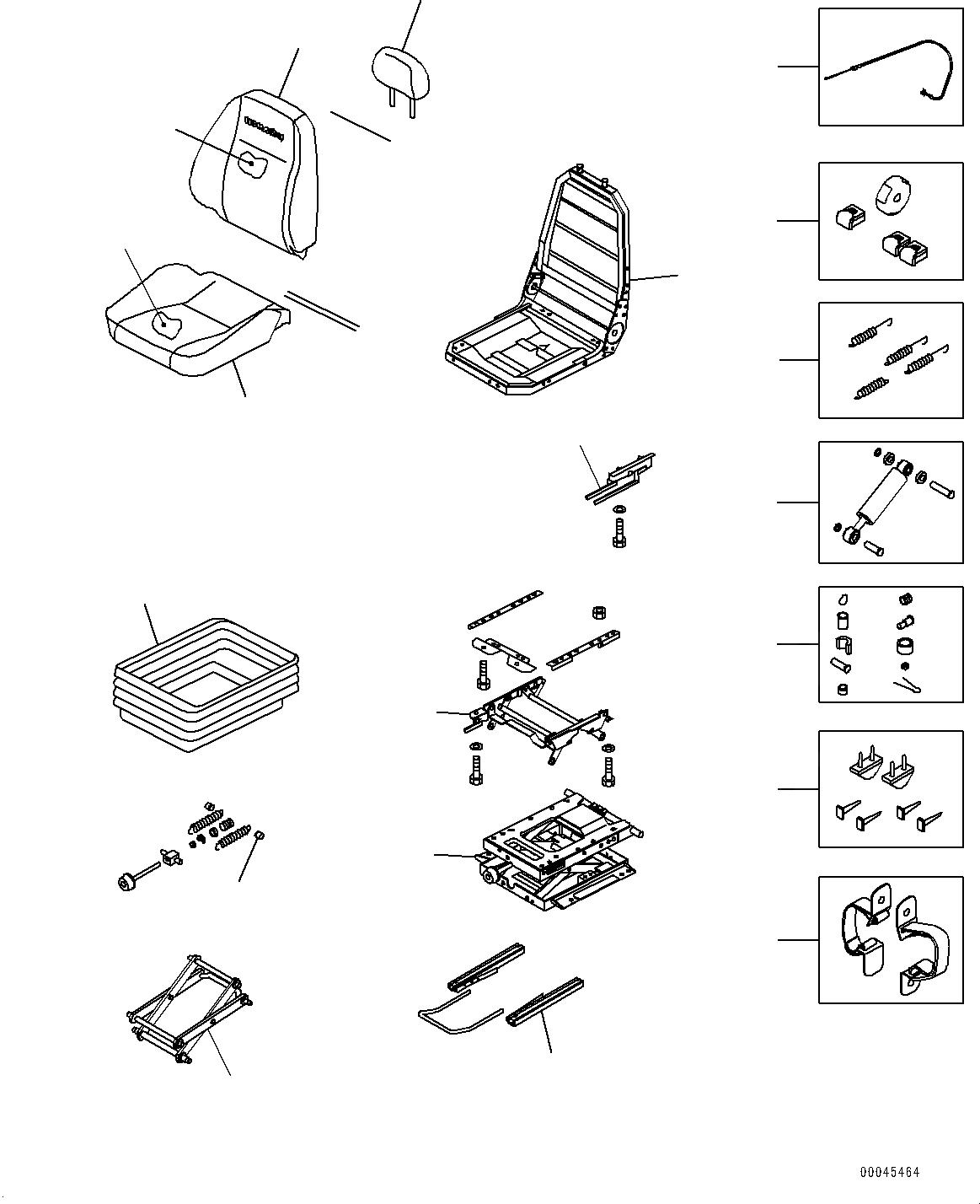 20Y-57-41104 Komatsu ПОСАДКА