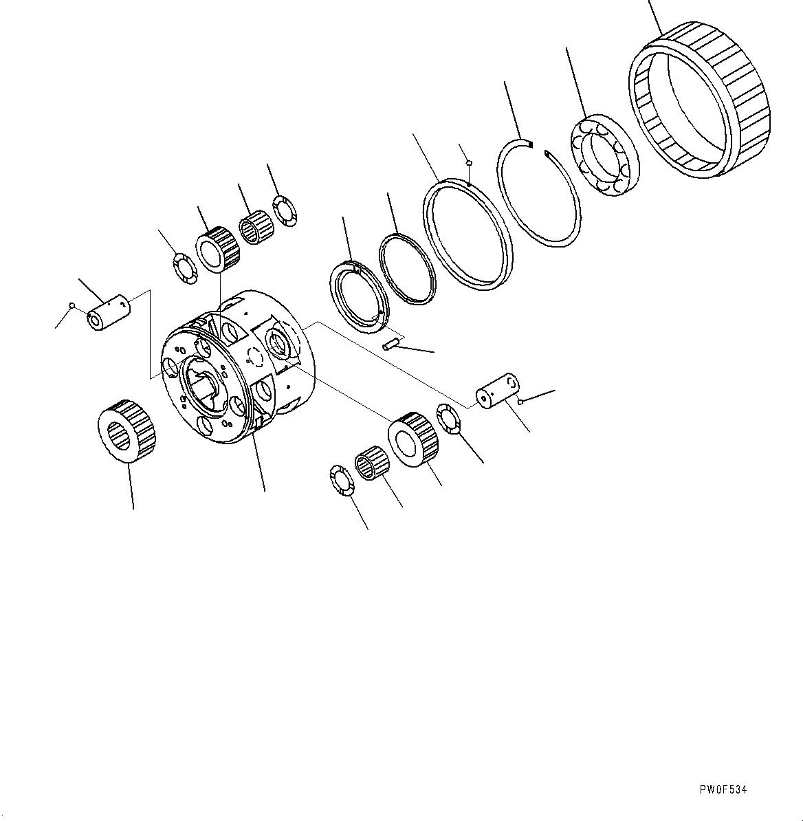 14X-15-29210 Komatsu УПЛОТНИТЕЛЬНОЕ КОЛЬЦО