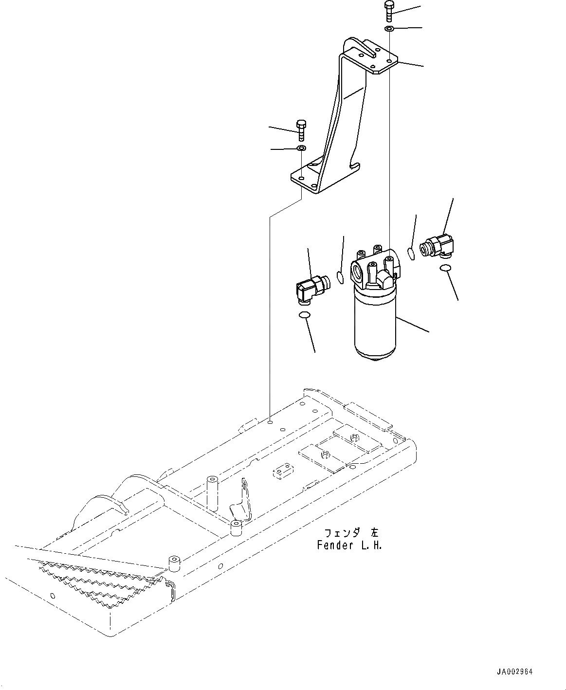 14X-49-61410 Komatsu ФИЛЬТР