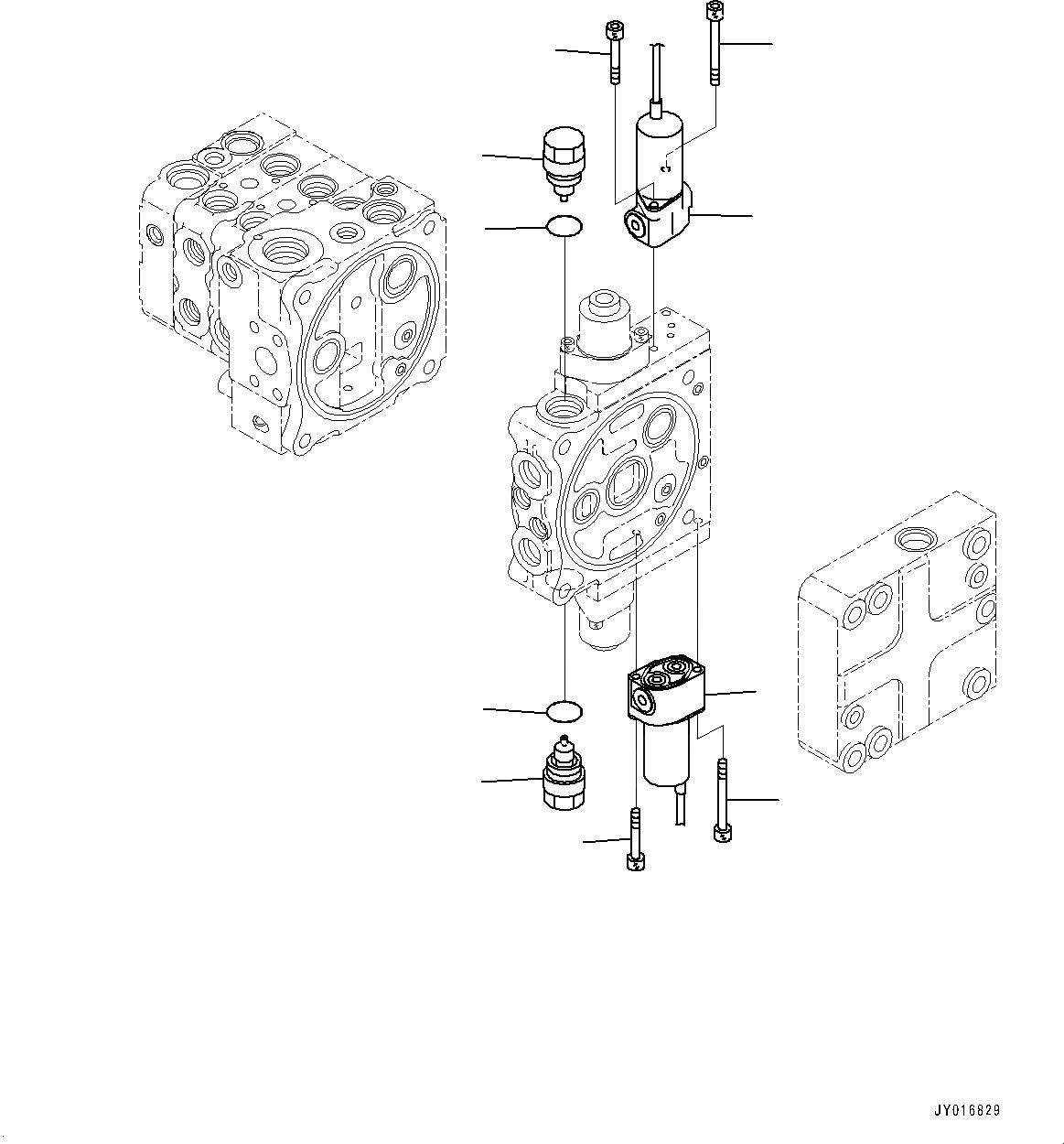 702-21-07610 Komatsu СОЛЕНОИДНЫЙ КЛАПАН
