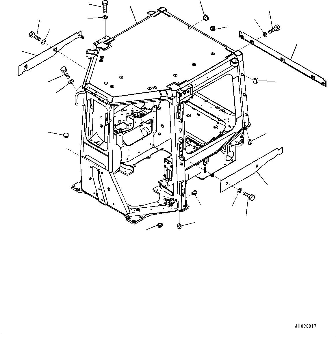 600-184-1350 Komatsu КЛАПАН