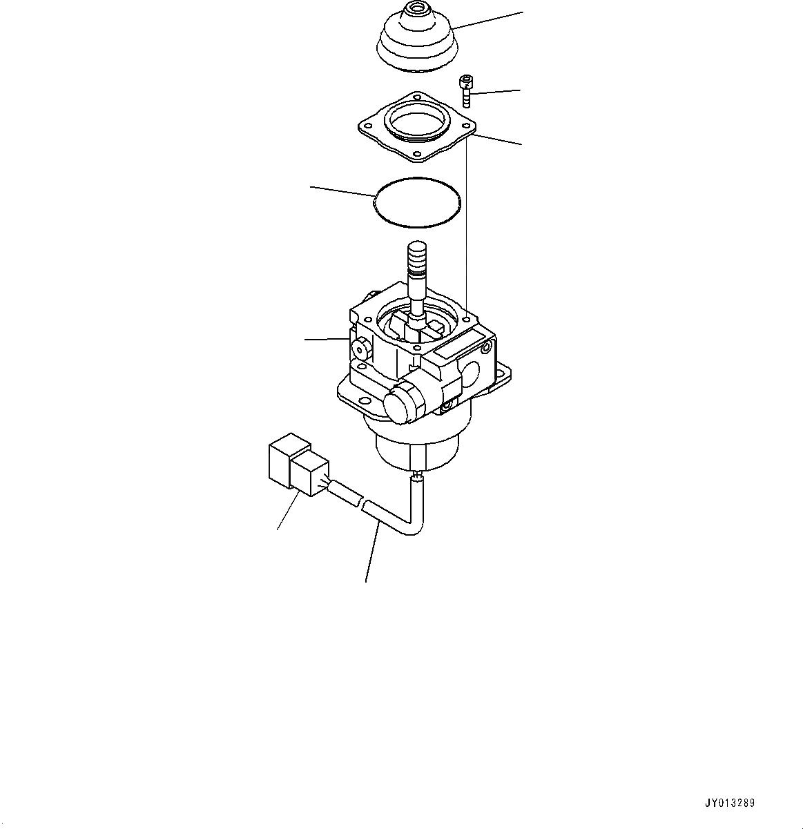 702-16-02290 Komatsu РЫЧАГ В СБОРЕ