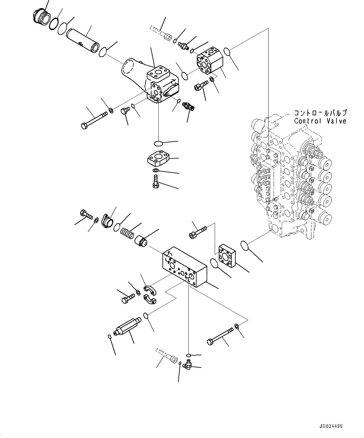 01253-A1400 Komatsu БОЛТ
