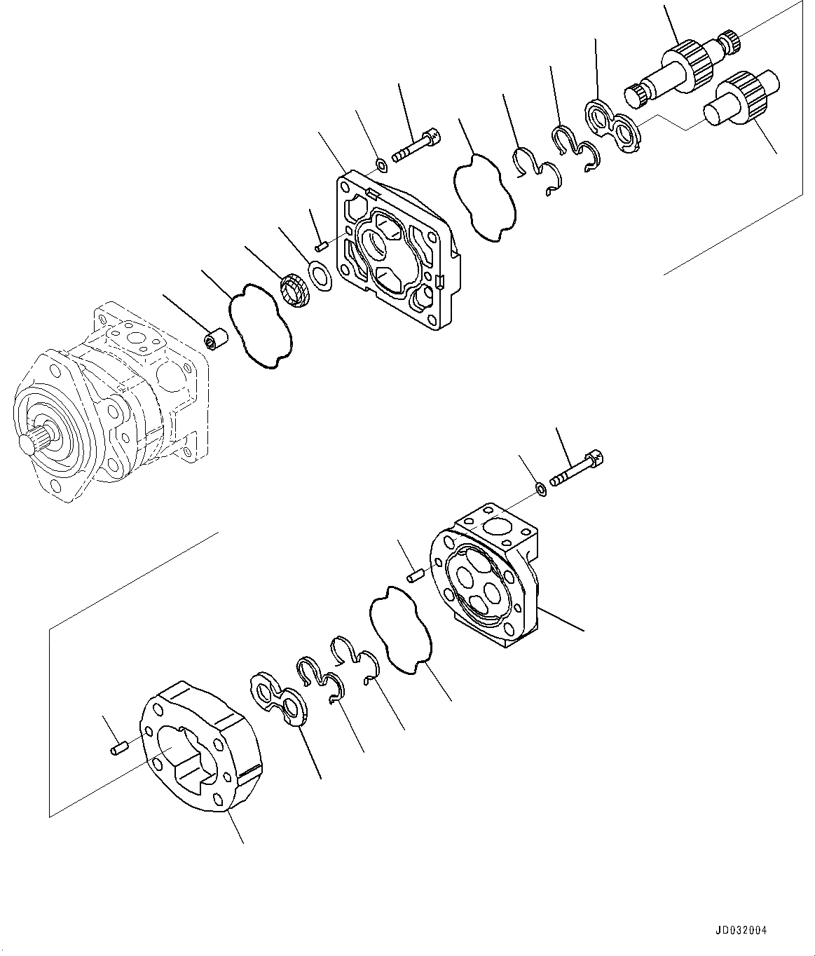 705-17-02122 Komatsu КРЫШКА В СБОРЕ
