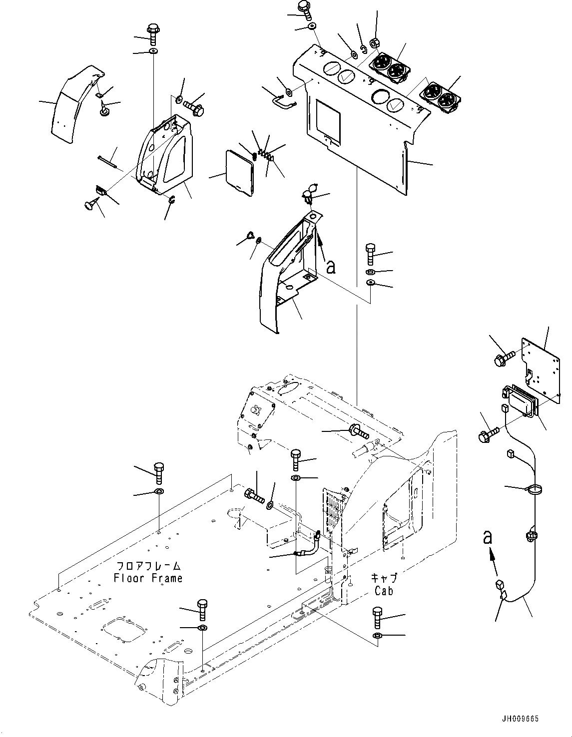 08028-43020 Komatsu КАБЕЛЬ