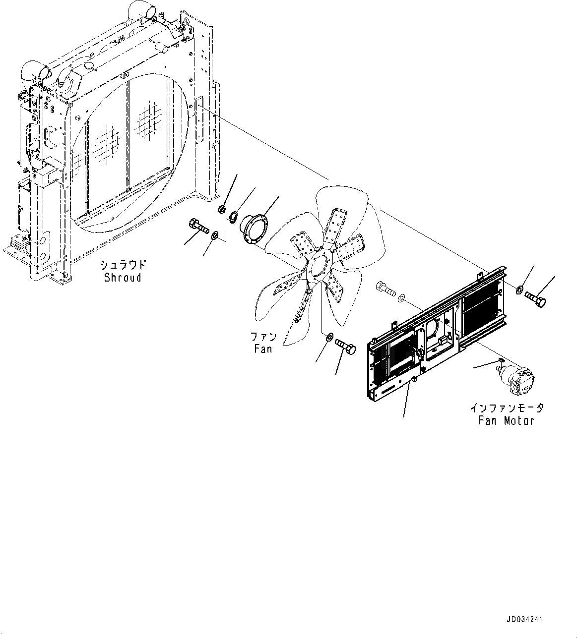 21M-03-22250 Komatsu ВТУЛКА