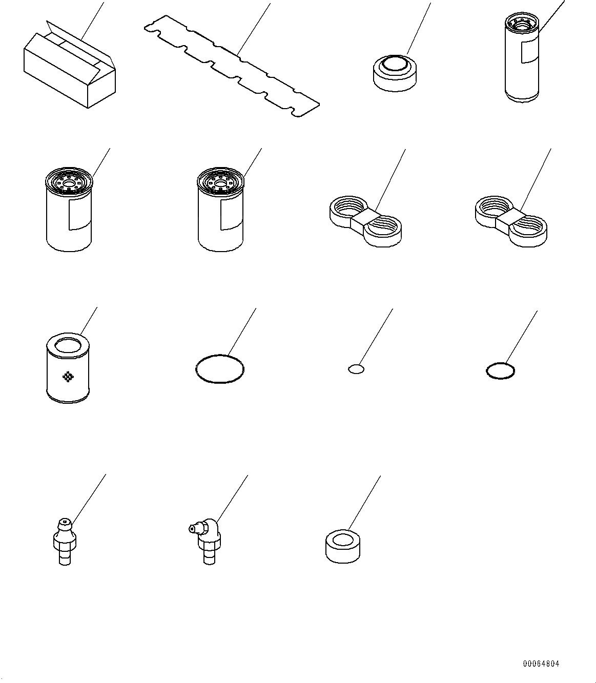 207-60-71183 Komatsu ФИЛЬТР