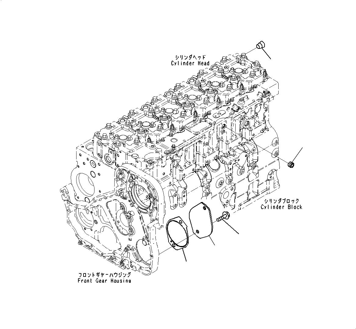 6741-21-3330 Komatsu ПРОКЛАДКА