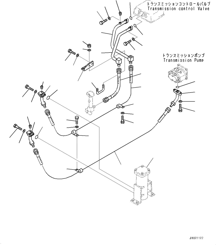 07102-20604 Komatsu РВД