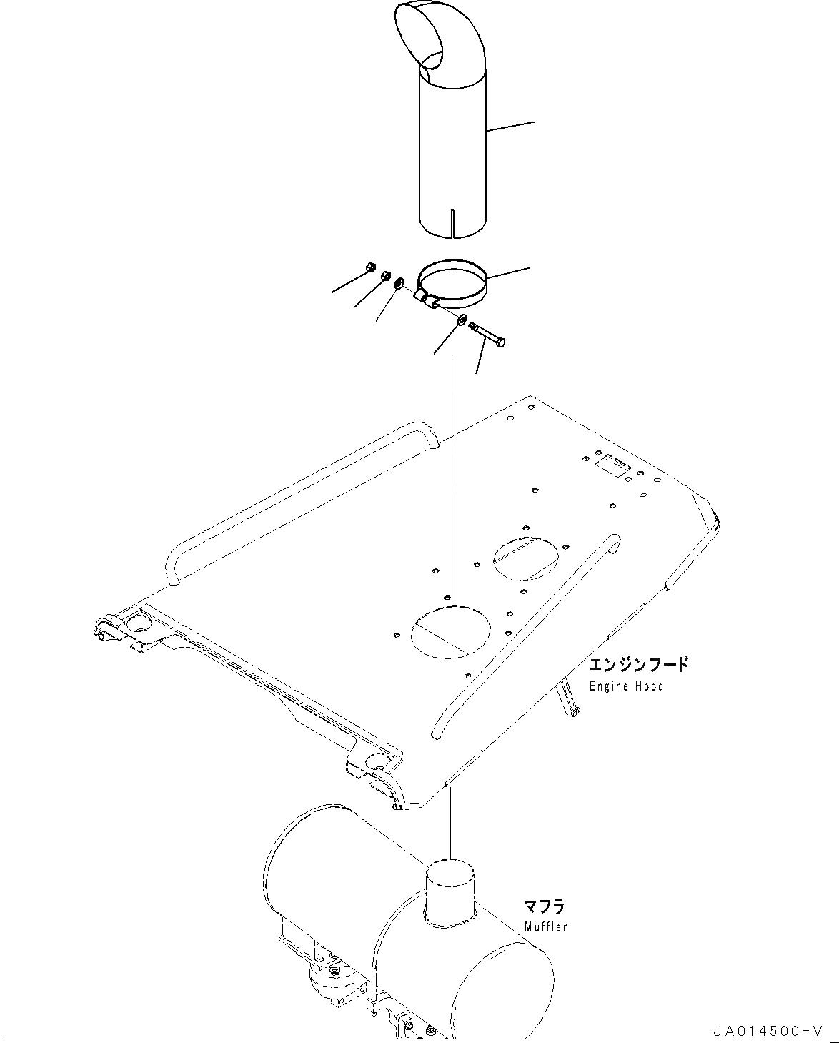 01640-31223 Komatsu ШАЙБА