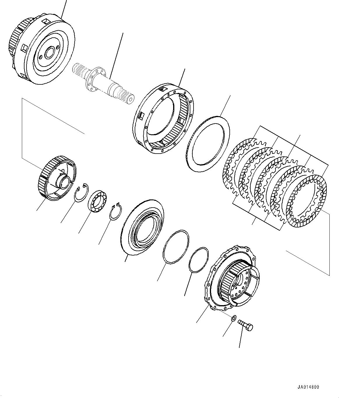 14X-22-22120 Komatsu ДИСК ТРАНСМИССИИ