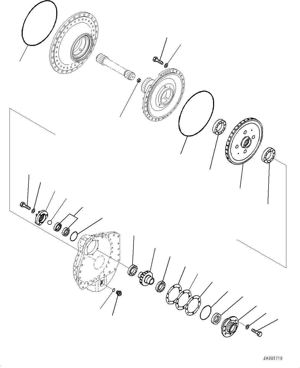14X-27-31210 Komatsu ШЕСТЕРНЯ