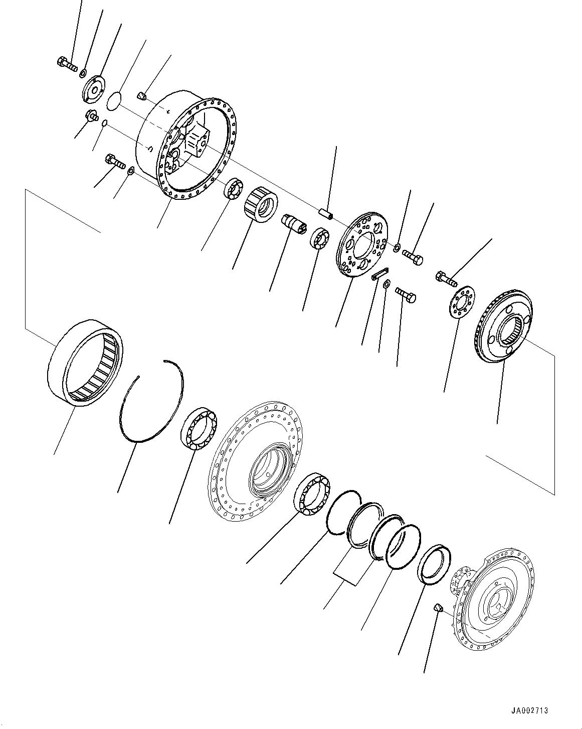 14X-27-11622 Komatsu СТУПИЦА