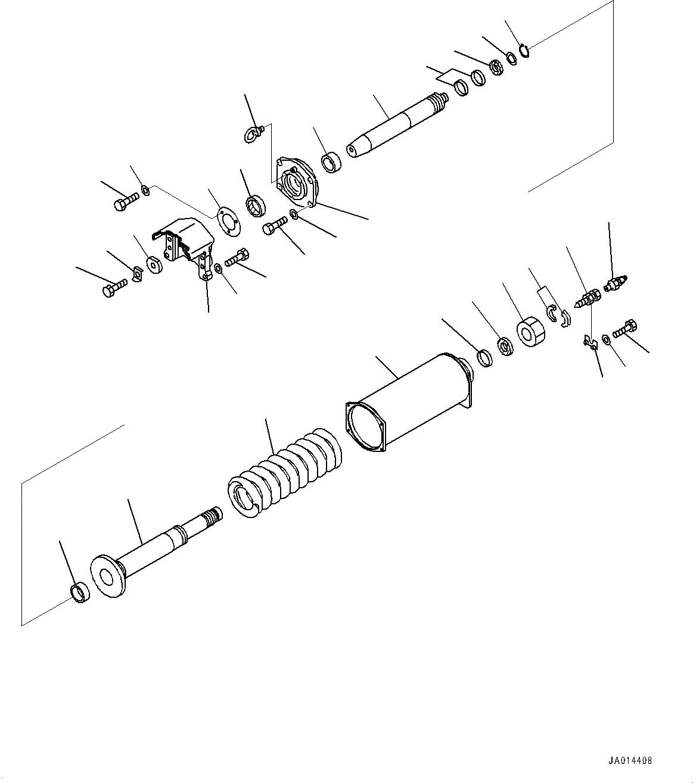 14X-30-13512 Komatsu ГИЛЬЗА ГИДРОЦИЛИНДРА