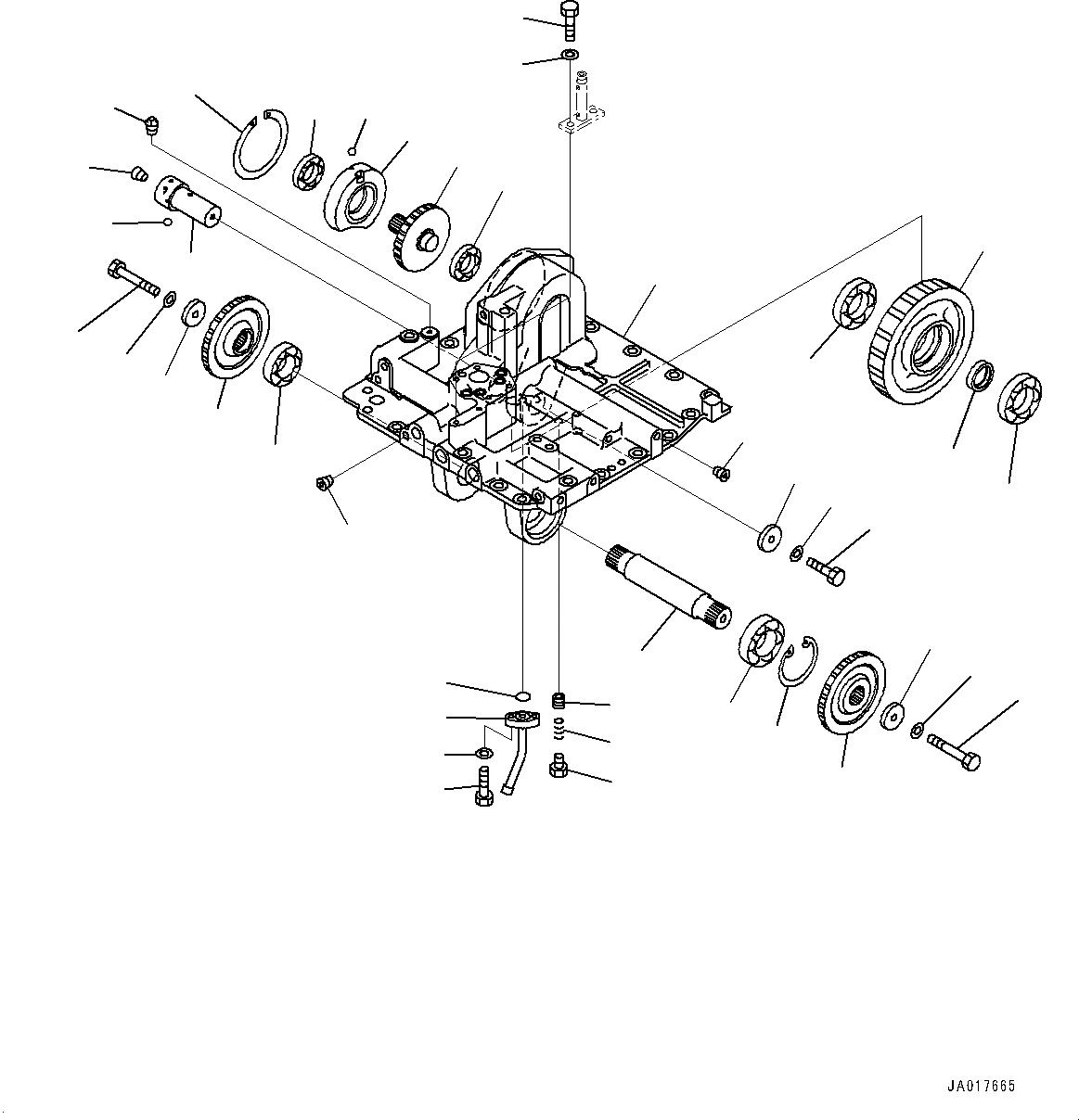 14Y-22-26240 Komatsu ТРУБКА