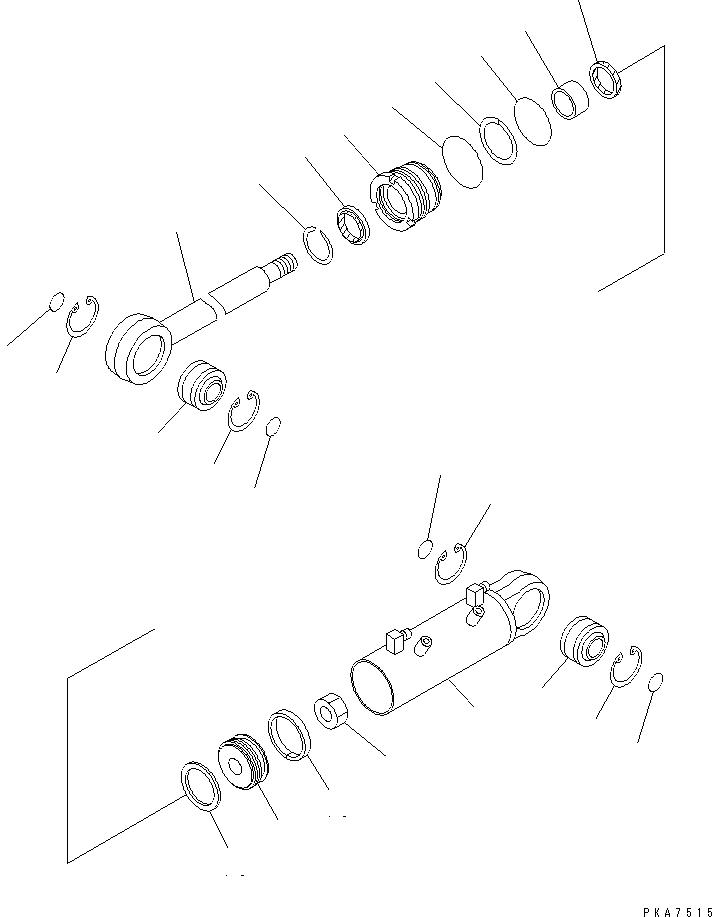 01580-03629 Komatsu ГАЙКА