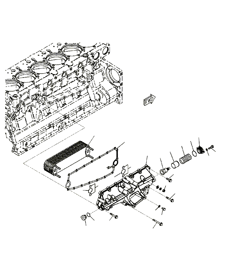 6210-61-2811 Komatsu ПРОКЛАДКА