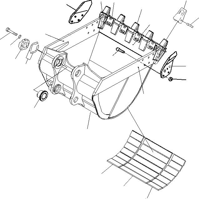 21N3211211 Komatsu