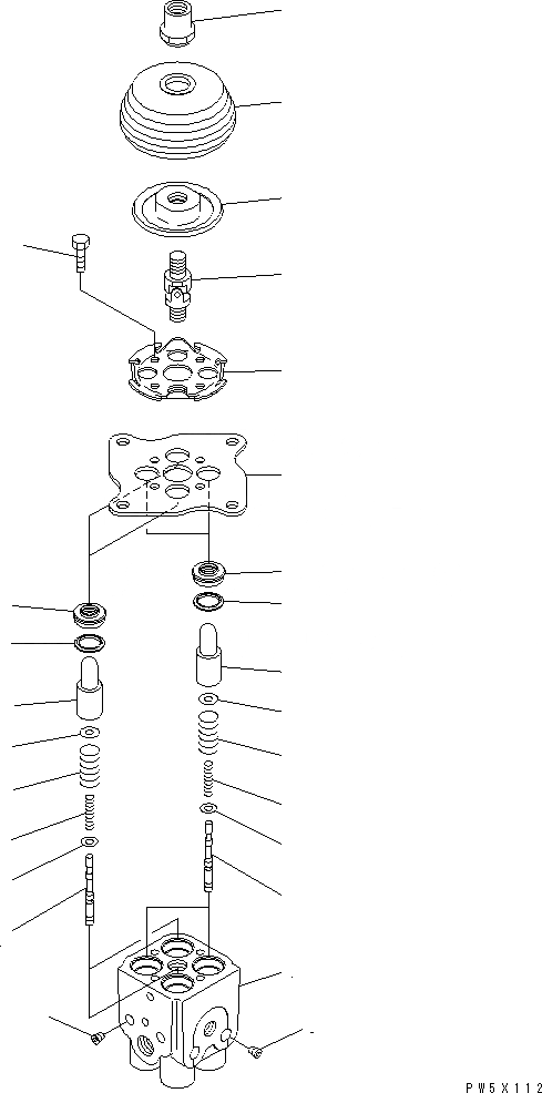702-16-03530 Komatsu УПРАВЛЯЮЩИЙ КЛАПАН