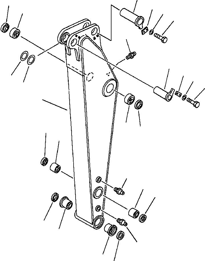 21K-70-12170 Komatsu ВТУЛКА