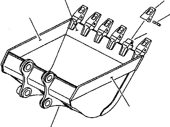20Y-70-14520 Komatsu АДАПТЕР