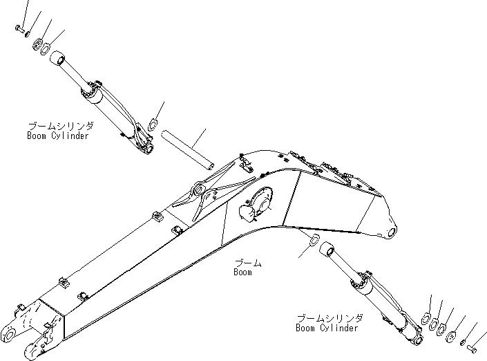 20Y-70-41211 Komatsu ШТИФТ