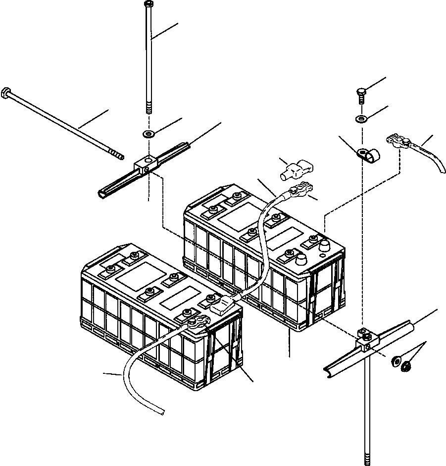 08028-44035 Komatsu КАБЕЛЬ