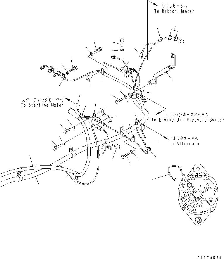 20Y-06-A2290 Komatsu ЭЛЕКТРОПРОВОДКА