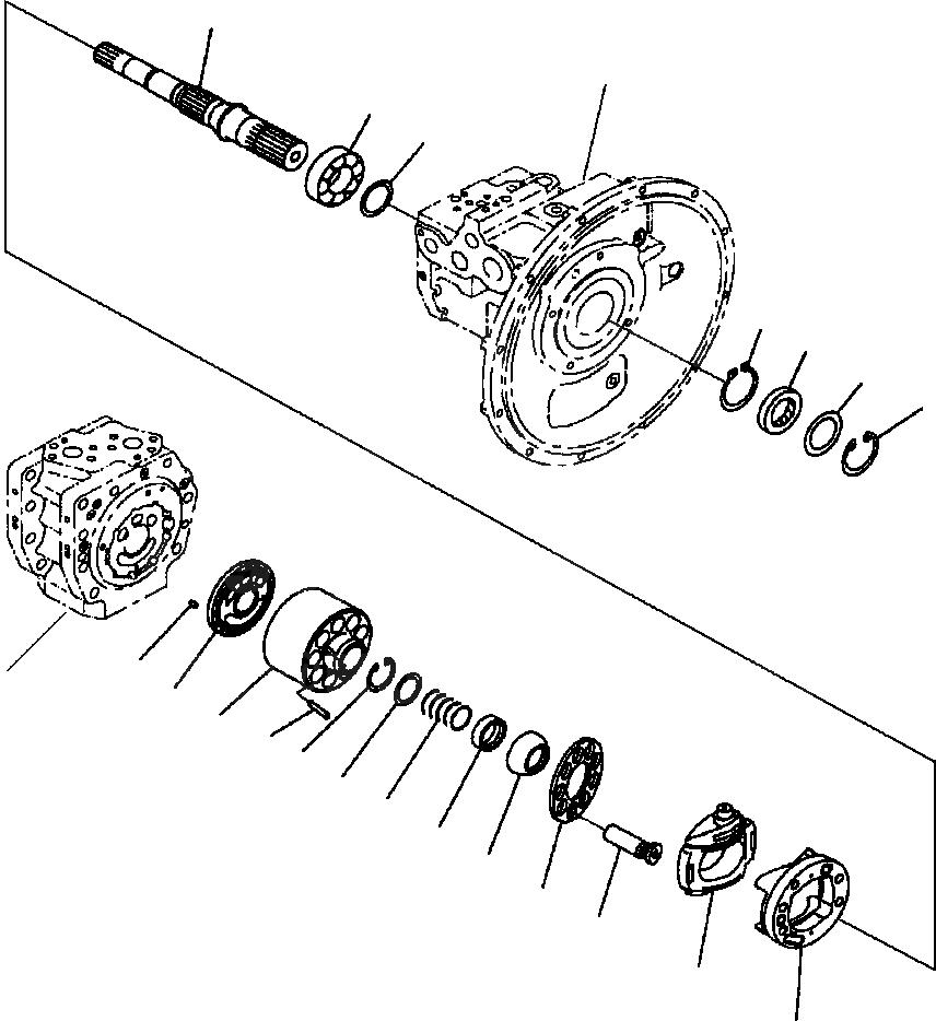 708-2L-23351 Komatsu НАПРАВЛЯЮЩАЯ ВТУЛКА