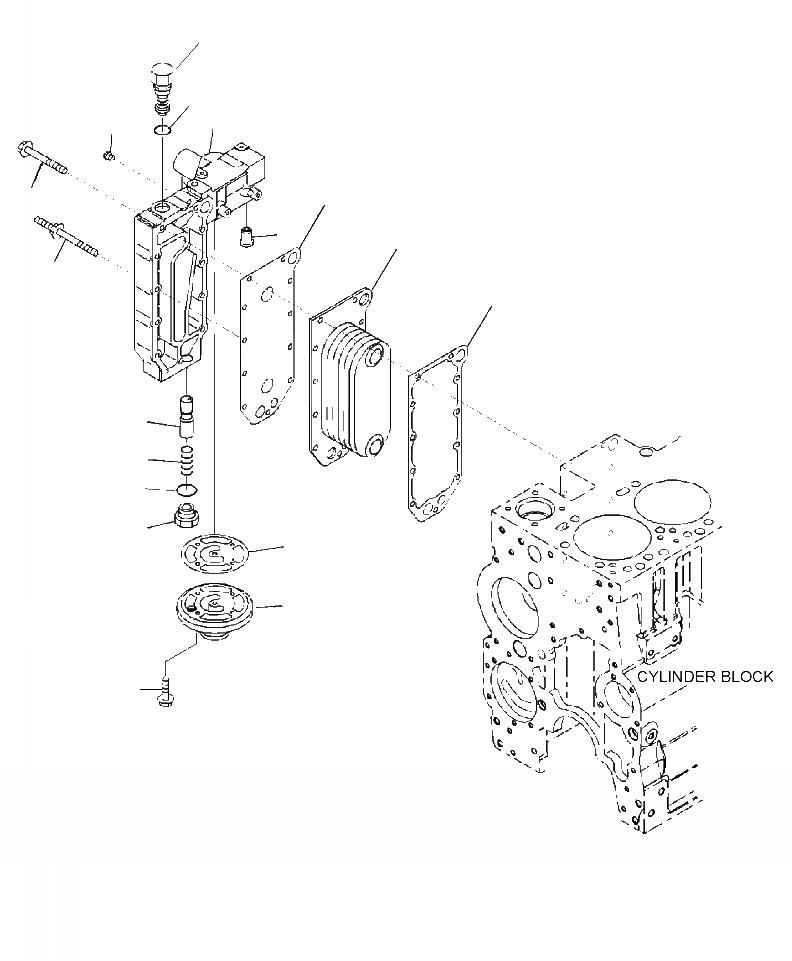 6742-01-5117 Komatsu КЛАПАН