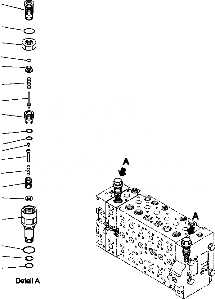 723-40-92103 Komatsu КЛАПАН