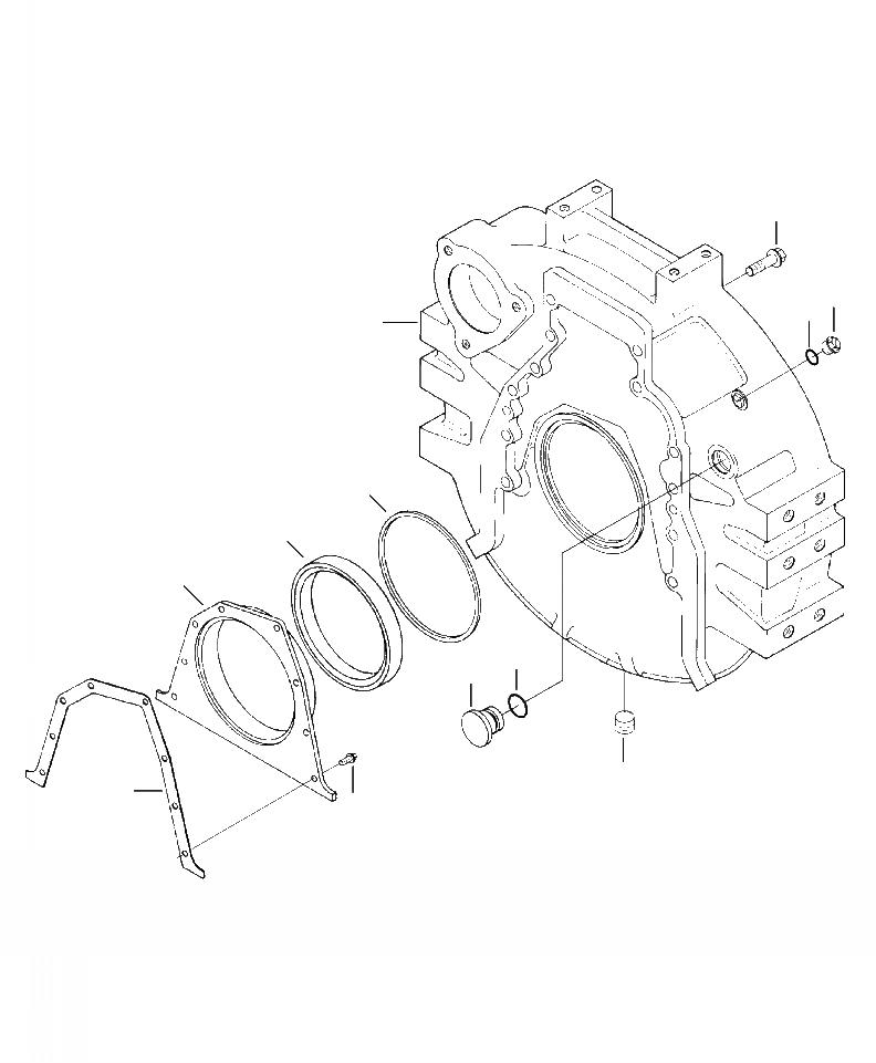 6743-21-4190 Komatsu ПРОКЛАДКА