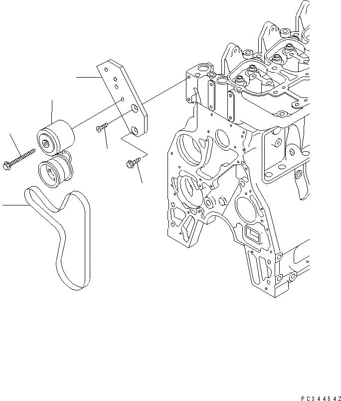 6732813330 Komatsu