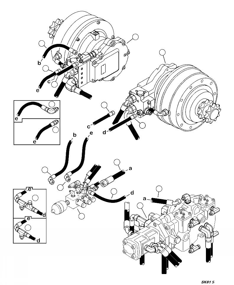37A-62-14350 Komatsu ГИБКИЙ ШЛАНГ