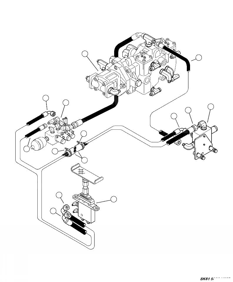 37A-62-14121 Komatsu ГИБКИЙ ШЛАНГ
