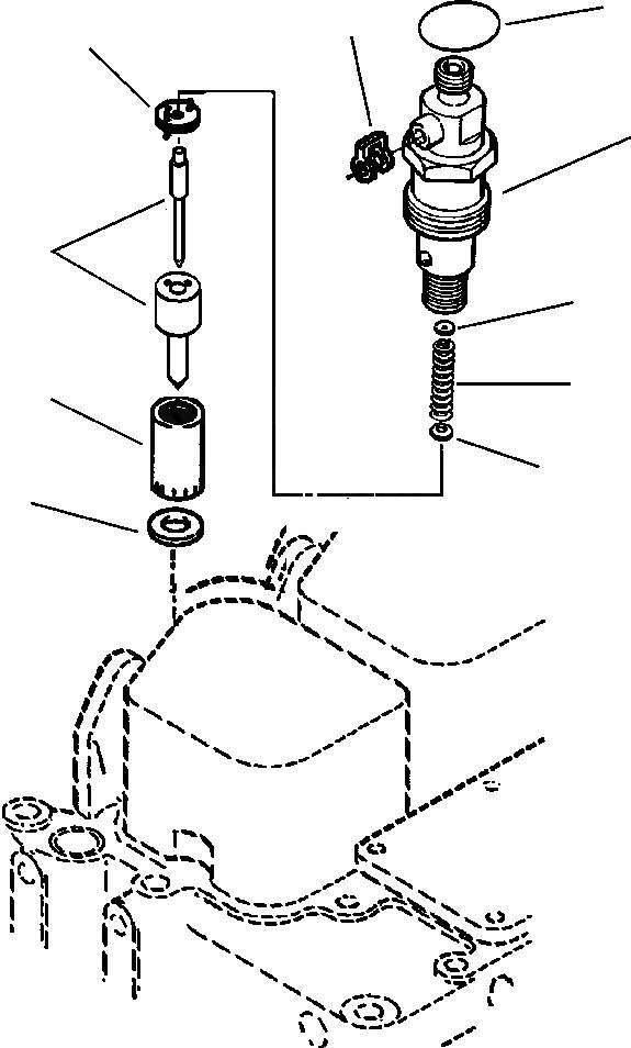 6732-11-3850 Komatsu ПРОКЛАДКА