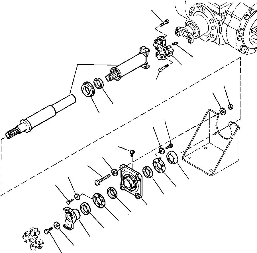 419-20-15114 Komatsu ФЛАНЕЦ
