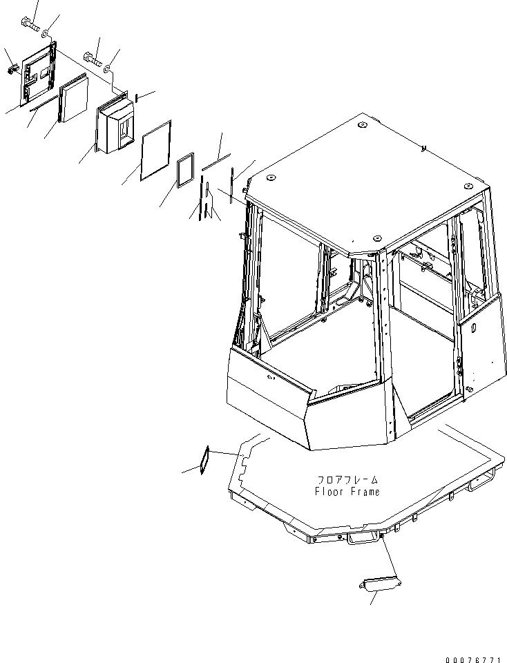 427-07-22120 Komatsu ФИЛЬТР