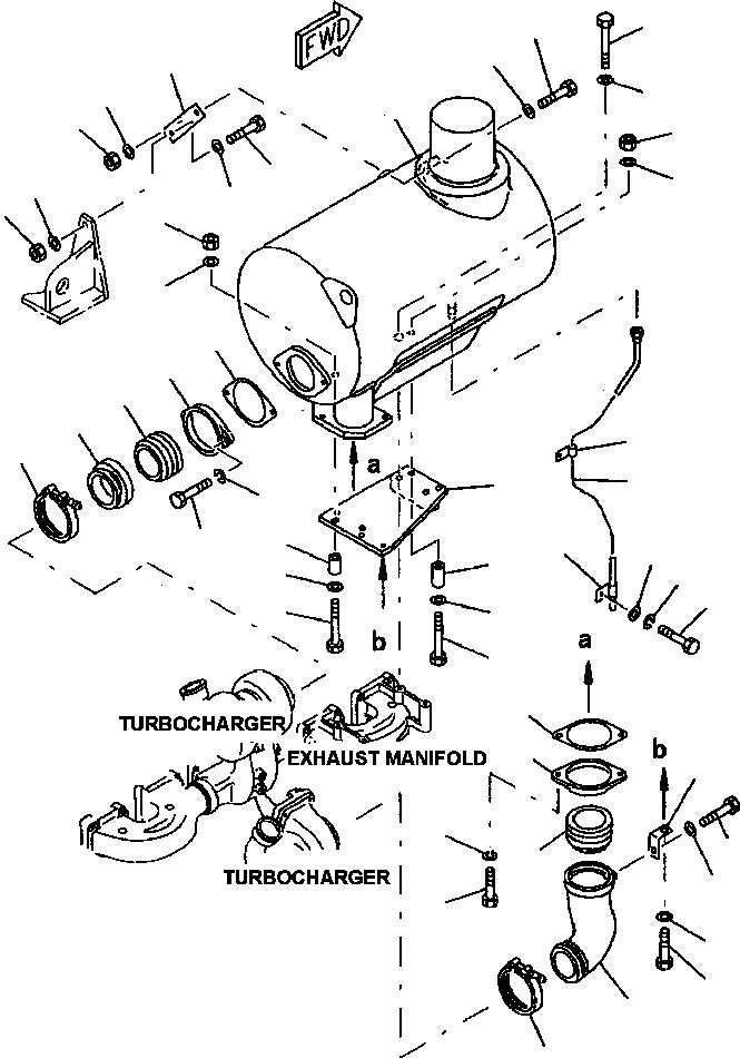 6151-11-5361 Komatsu ХОМУТ