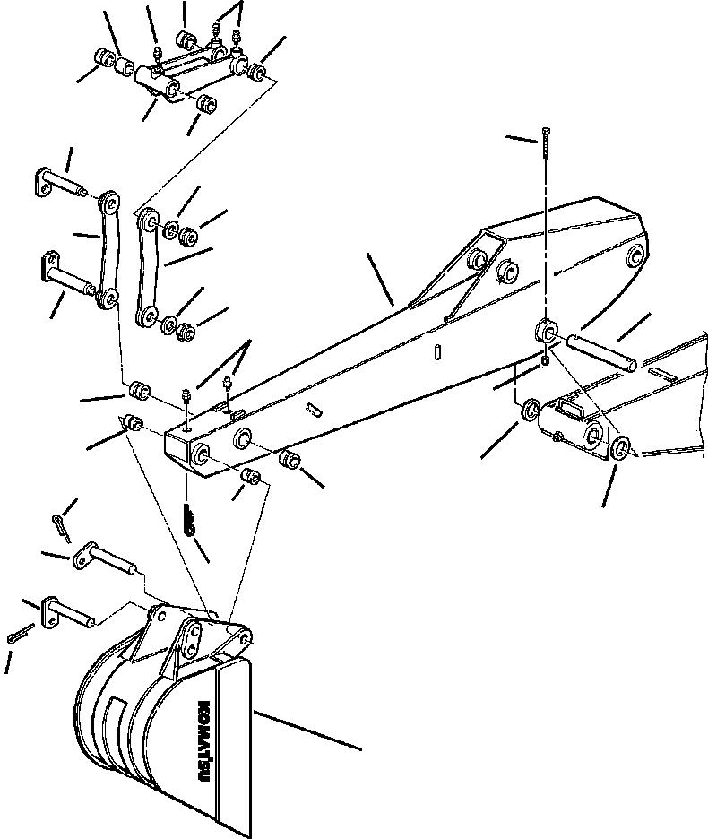 42N-856-1760 Komatsu ФИКСАТОР