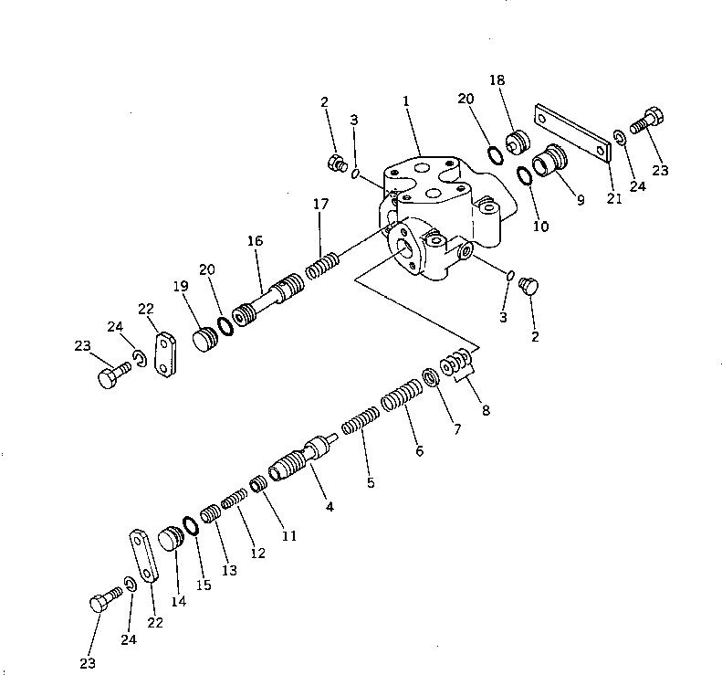 113-15-00710 Komatsu НАБОР ПРОКЛАДОК